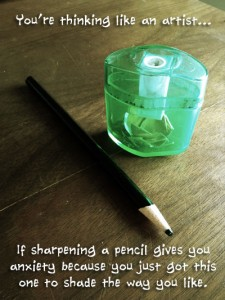 sharpen that pencil if you dare!