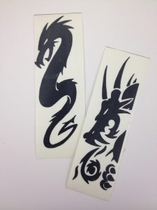 vinyl dragon stickers