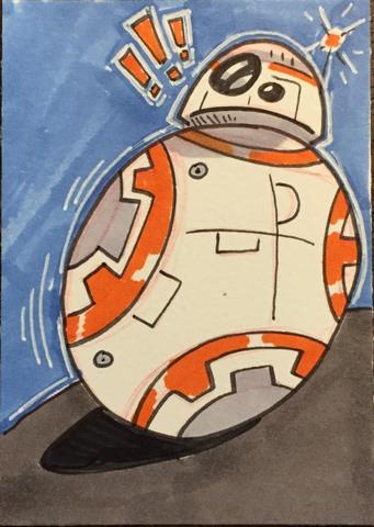 Inktober BB-8