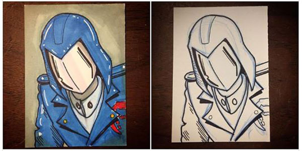 Inktober 2018 – Cobra Commander